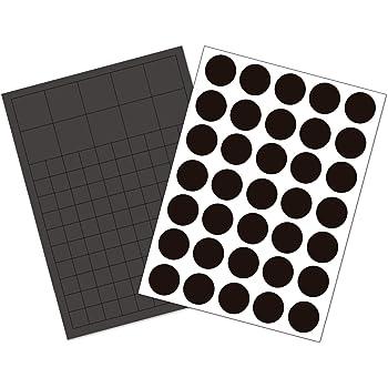 selbstklebend Magnetfolie Magnetpunkte Takkis 50 Stück 20mm Magnetplättchen