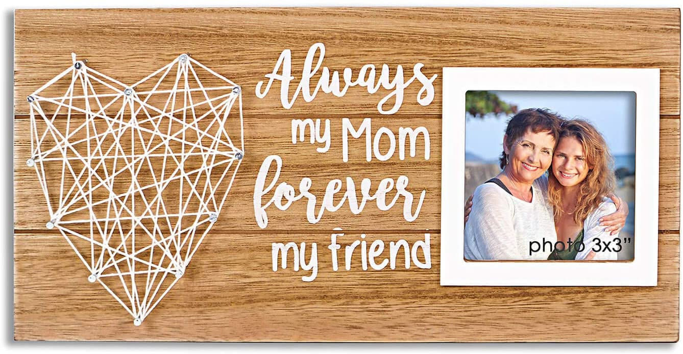 Stars on Pink Wood Birdhouse Frame Photo Frame Gift from Daughter Shining Star Can Personalize 3 x 3  Photo