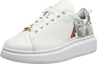 Ted Baker Ailbe 3 Womens White Narnia Leather Trainers