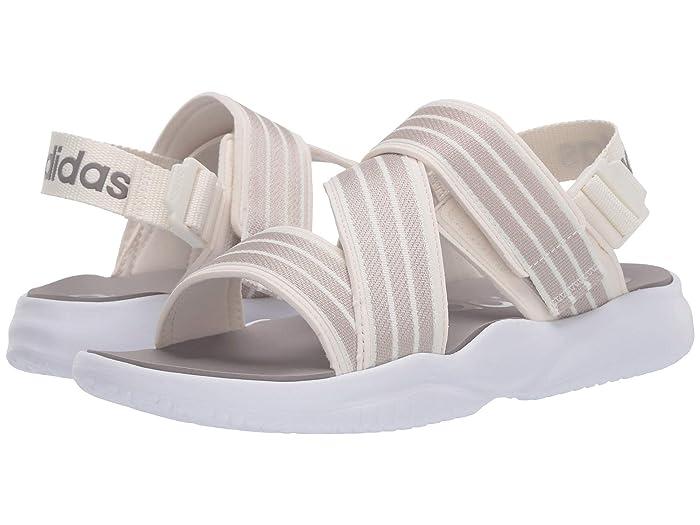 adidas  90s Sandal (Cloud White/Alumina/Footwear White) Womens Shoes