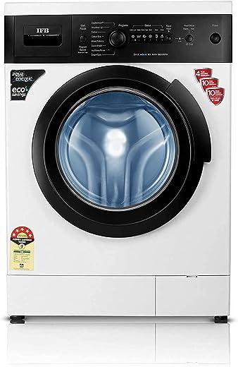 IFB 6 kg 5 Star Fully-Automatic Front Loading Washing Machine (Diva Aqua BX, White|Black matte, Aqua Energie,Crescent Moon Drum,Laundry... 1