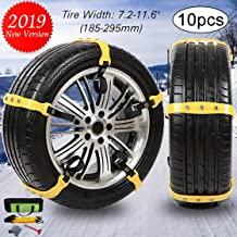 FairyMe Tire Chains Car Safety Chains Cable Traction Mud