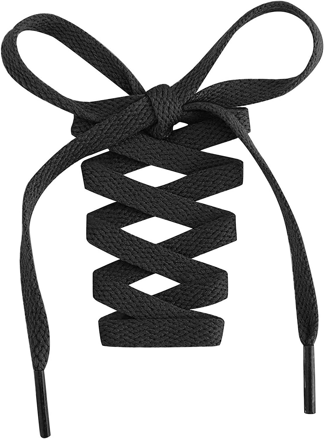 """Handshop Flat Shoelaces 5/16"""" - 20 Colors in 36""""-72"""" Shoe Laces For Sneakers : Clothing, Shoes & Jewelry"""