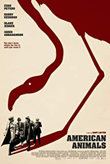 American Animals Movie Poster 18'' x 28'' - by FINESTPRINT88