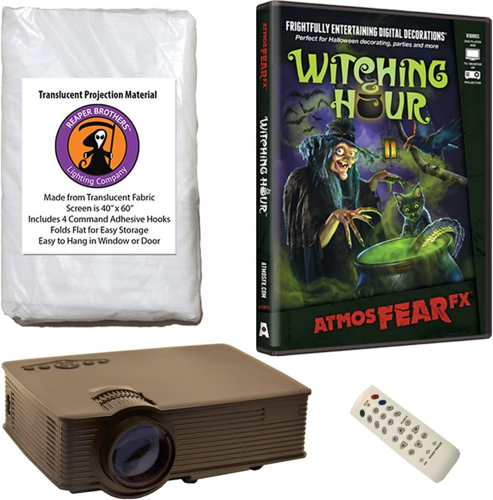 Kringle Bros AtmosFearFx 超美品再入荷品質至上 Witching Hour 大人気! Projector DVD Halloween K