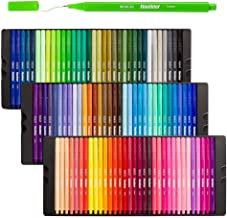 Shuttle Art Fineliner Pens, 100 Colors 0.4mm Fineliner Color Pen Set Fine Line Drawing Pen Fine Point Markers Perfect for ...