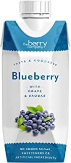 The Berry Company Blueberry Juice Blend with Baobab & Grape, 330 ml