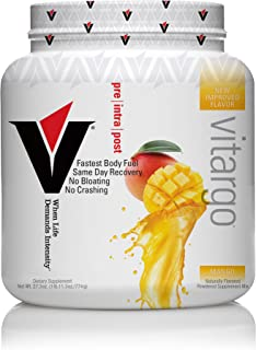 Vitargo Carbohydrate Powder | Feed Muscle Glycogen 2X Faster | 1 LB Mango Pre Workout & Post Workout | Carb...