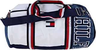 Tommy Hilfiger Unisex Holt Iconic Canvas Holt Iconic Canvas, Peacoat/Bright White/Indigo, One Size