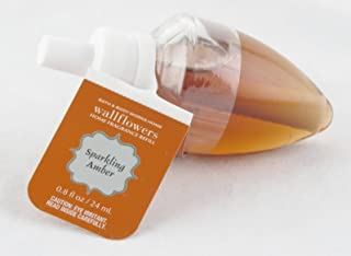 Bath and Body Works Sparkling Amber Wallflower Fragrance Refill Single Bulb
