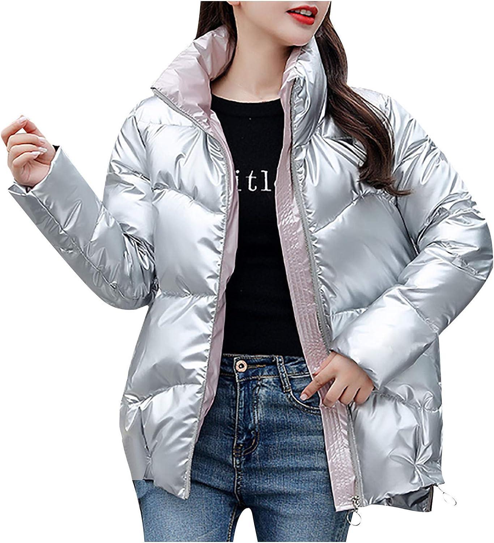 Evangelia.YM Women Lightweight Down F Outwear Long-Sleeve Max 50% OFF Jacket Oakland Mall