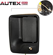 AUTEX Exterior Door Handle Compatible with Ford F-250 F-350 F-450 F-550 1999-2016 Replacement for Ford Excursion 00 01 02 03 04 05 Door Handle Front Left Driver Side 79306