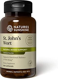 Nature's Sunshine St John's Wort Concentrate 100 Capsules