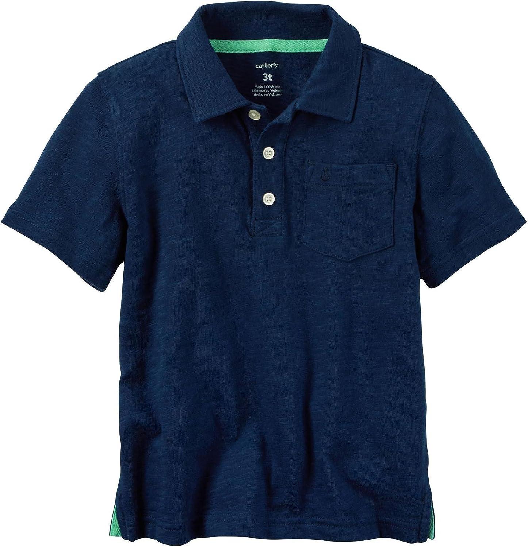 Carter's Boys' Knit Polo Henley 243g962