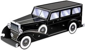 Beistle Gangster Car Centerpiece, 12