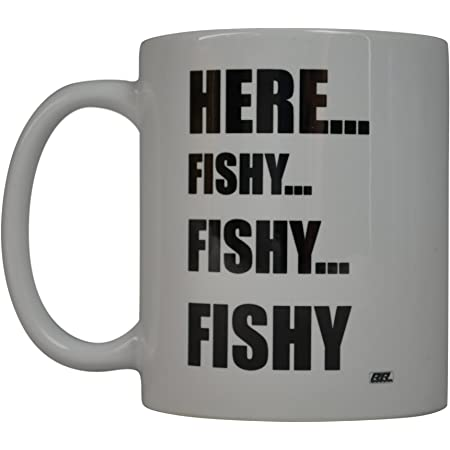 Best Coffee Mug Fishing Fish On Novelty Cup Great Gift Idea For Men Him Dad
