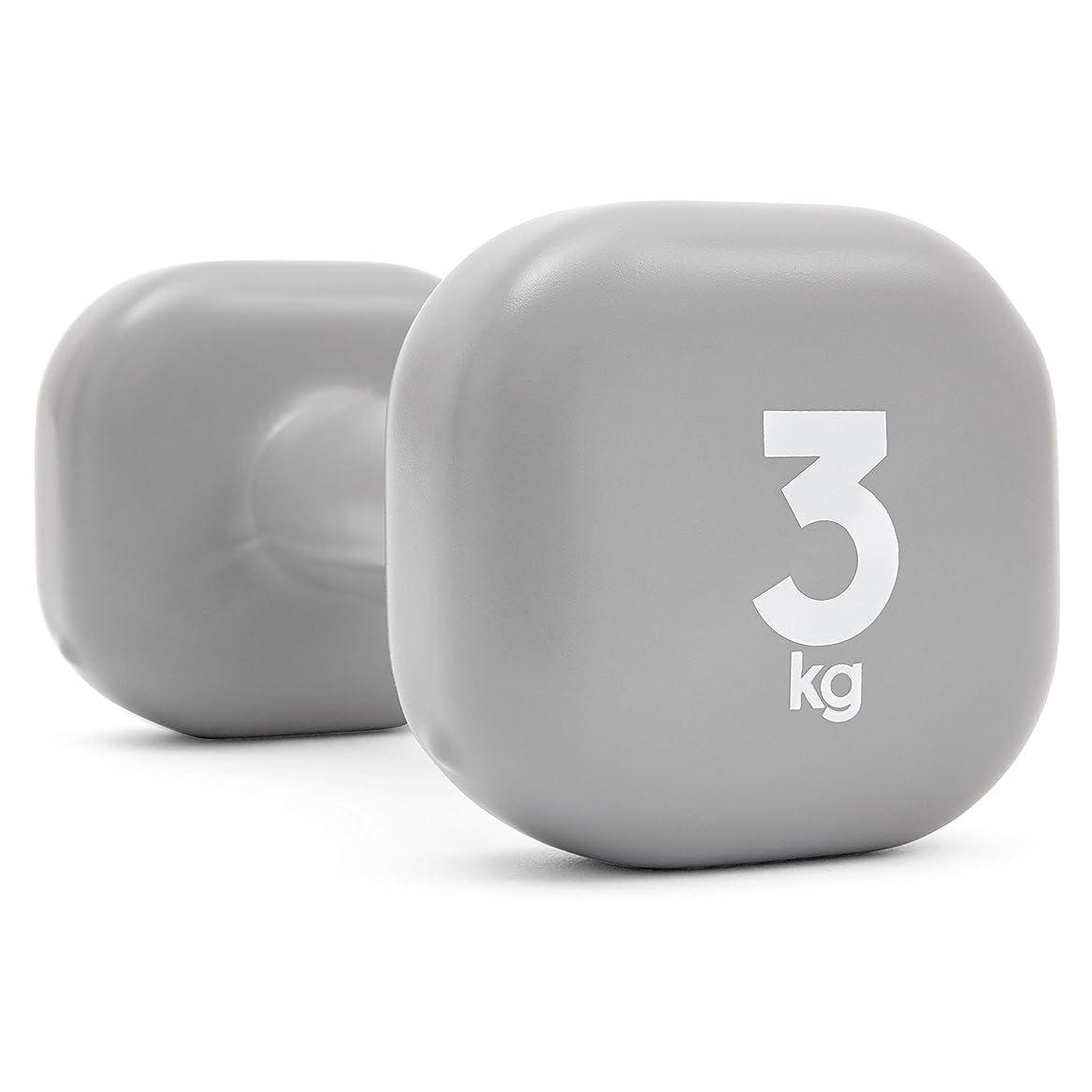 列挙する咳オデュッセウスReebok(リーボック)ダンベル 3kg RAWT11153