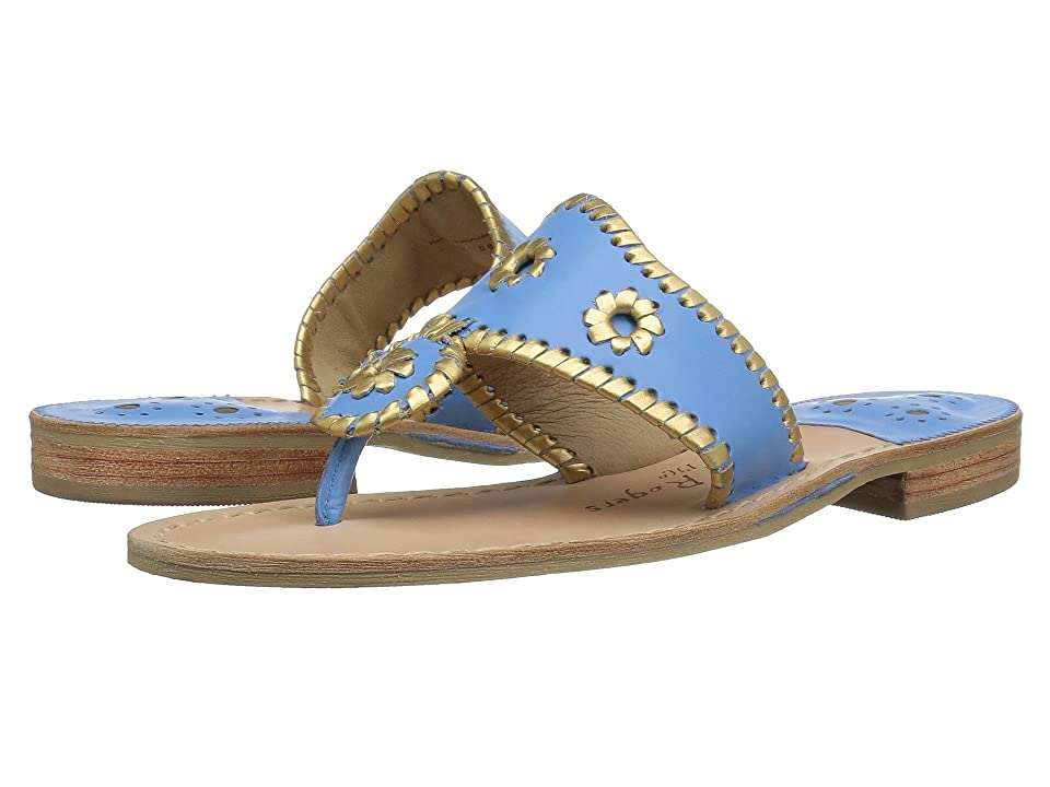 Jack Rogers Hollis (French Blue/Gold) Women