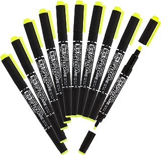 ゼブラ 蛍光ペン オプテックスケア 黄 10本 B-WKCR1-Y