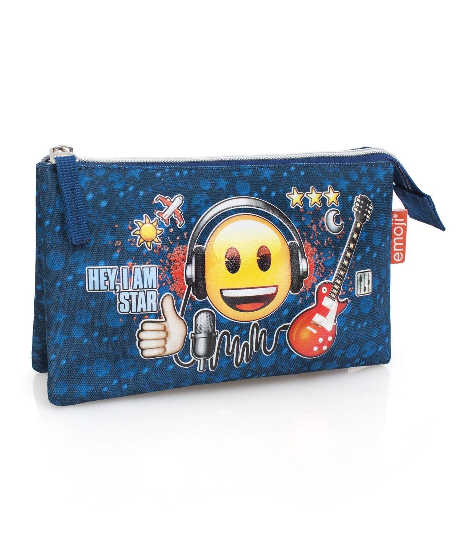 Bolsos HF Estuche portatodo Emoticonos Emoji 22x12cm: Amazon.es: Juguetes y juegos