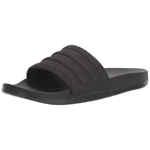 7a6f27d04 Amazon.com | adidas Men's Adilette Comfort Slide Sandal Black, ((12 ...