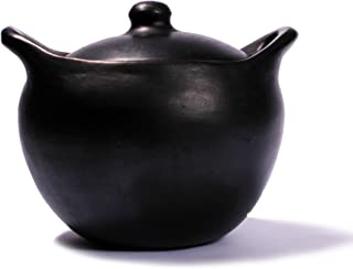Ancient Cookware, La Chamba Rounded Soup Pot, Small, 2.5 Quarts