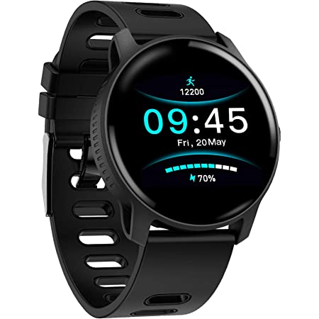 Smart Watch - Health & Fitness Tracker Watch with Tools for Heart Health, Sleep Monitor & Step Calorie Counter, Multiple Sports Modes Tracking, IP69 Waterproof Smartwatch for Men, Women and Kids