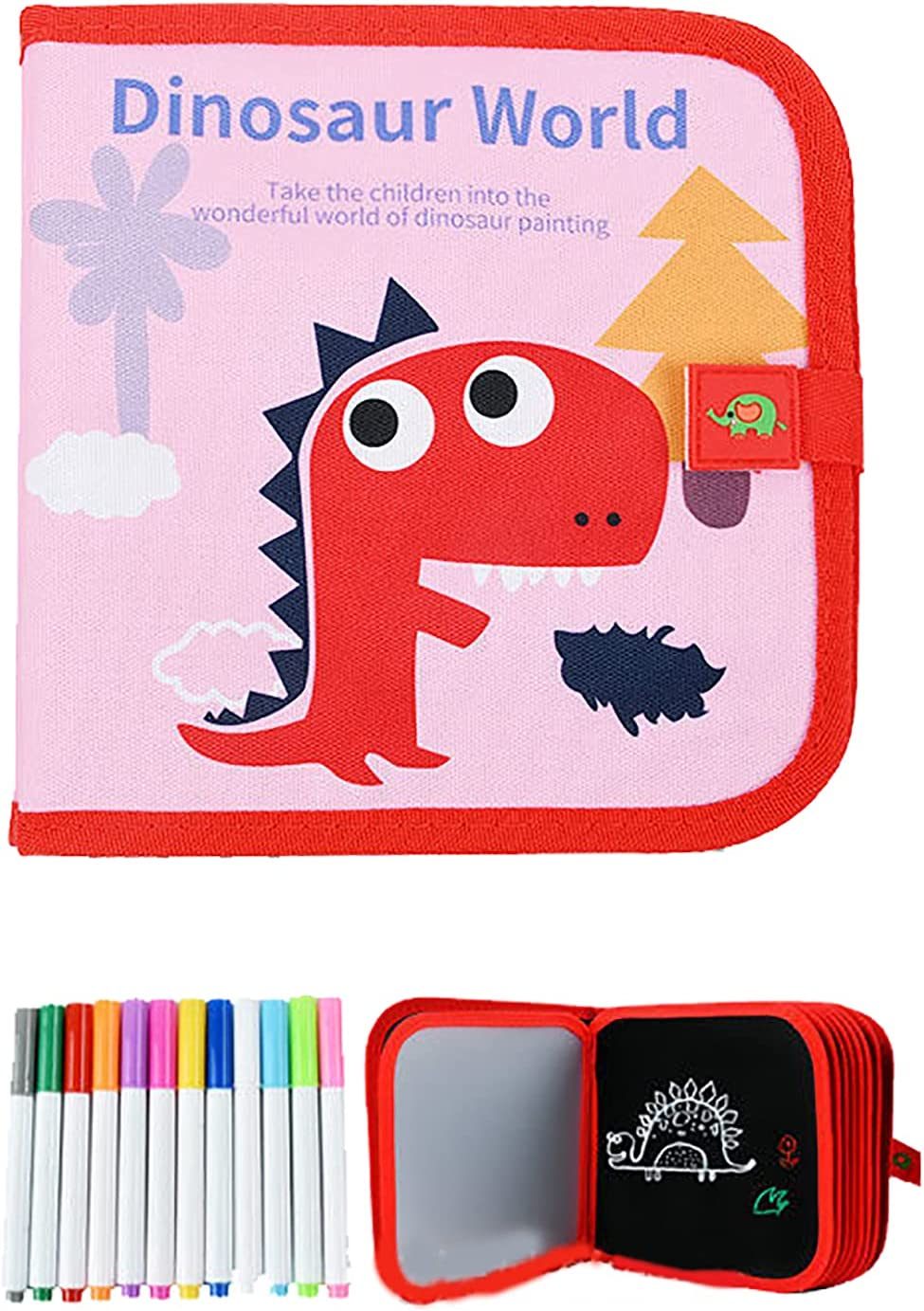 RUIYELE Kids Erasable Doodle Book Drawing Set Max 44% OFF Reusable Board Houston Mall T