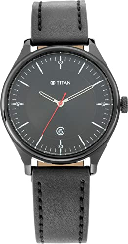 Titan Analog Black Dial Men s Watch 1834NL01 1834NL01