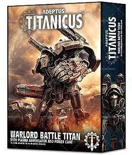 Games Workshop Warhammer Adeptus Titanicus: Warlord Battle Titan with Plasma Annihilator and Power Claw
