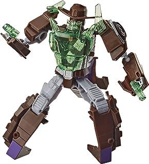Transformers Bumblebee Cyberverse Adventures Battle Call Trooper Class Wildwheel, Voice Activated Energon Power Lights, Ag...