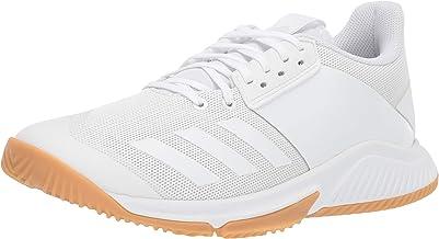 adidas Women's Crazyflight Team Volleyball Shoe, White/White/Gum, 10 M US