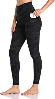 Women's High Waisted Yoga Pants 7/8 Length Leggings with Pockets