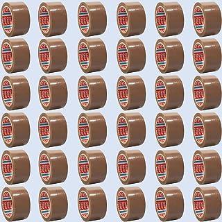 tesa 64014 Klebeband Paketklebeband Packband 66m x 50mm 36 Rollen, Braun