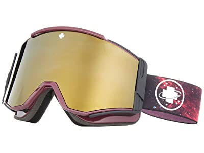 Spy Optic Ace (Galaxy Purple/Bronze/Gold/Persimmon/Silver Spectra Mirror) Goggles