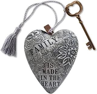 DEMDACO 1003480005 Family Art Heart Sculpture