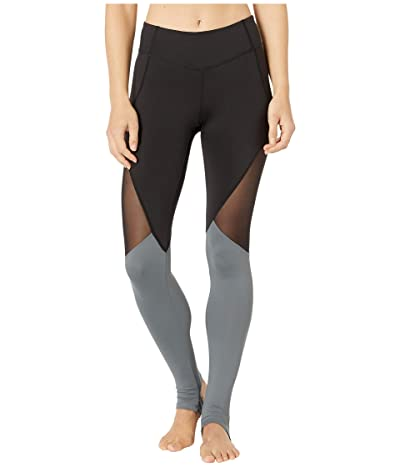 Bloch Panelled Leggings (Black) Women