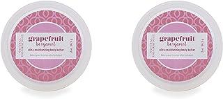 Natural Inspirations Mini Body Butter 2 Piece Set, Grapefruit Bergamot