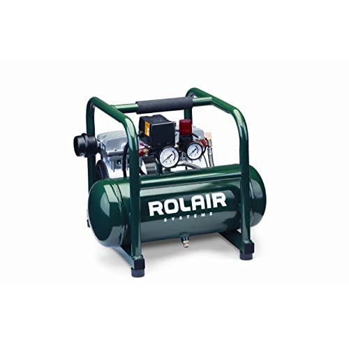 Rolair JC10 Plus 1 HP Oil-Less Compressor