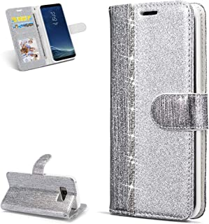 Karomenic Silikon H/ülle kompatibel mit Samsung Galaxy J7 2017 Gl/änzend Bling Strass Schutzh/ülle M/änner M/ädchen Ultra Slim 2 in 1 Weiche TPU Handyh/ülle Plastik Hard PC Tasche Bumper Case,Silber