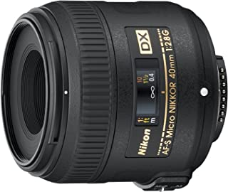 Nikon AF-S DX Micro NIKKOR 40mm f/2.8G Objetivo Negro [Nital Card: 4años de garantía]
