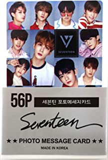 SEVENTEEN - MINI POSTCARD PHOTOCARD SET 56pcs by Pledis Entertainment