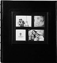 PARAH LIFE Premium 500 Foto Família Casamento Aniversário Bebê Férias Álbum Foto Costurado Couro Costura Livro Bound Multi...