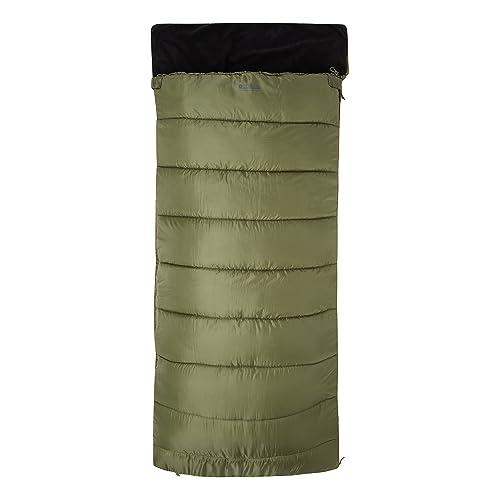 Mountain Warehouse Saco de Dormir Sutherland - Saco de Dormir con Aislamiento térmico de Fibras Huecas