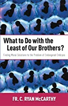 What to Do with the Least of Our Brothers?: Finding Moral Solutions to the Problem of Endangered Embryos