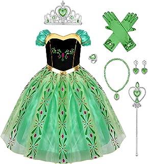 Frozen Elsa Anna Kleid Party Ballkleid Karneval Halloween Partykleid Hoodie Neu