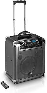 LD Systems LDRJ10 Roadjack 10   Batteriegespeister Bluetooth Lautsprecher mit Mixer schwarz