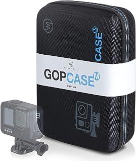 Wicked Chili GOP Case väska kompatibel med GoPro Hero 8, 7, 2018, 6, 5, 4, Apeman, Yi 4k Plus, Akaso, Crosstour resväska B...