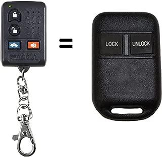 Car Key Fob Keyless Entry Remote fits 2011-2012 Subaru Forester // 2009-2013 Impreza // 2011-2013 Legacy Outback Set of 2 CWTWB1U819