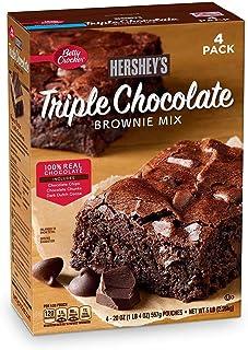 Betty Crocker's Hershey's Triple Chocolate Brownie Mix (20 oz. ea., 4 pk.)